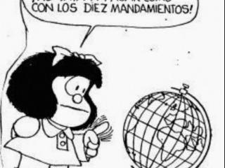 Respeto a la Constitución, segun Mafalda